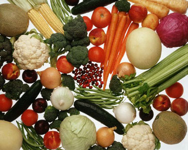 Vaisiai ir daržovės, sveika mityba