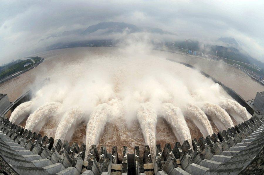 Didziausia azijos upes delta