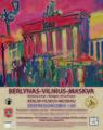 Kulturų tiltai VILNIUS-BERLYNAS-MASKVA plakatas
