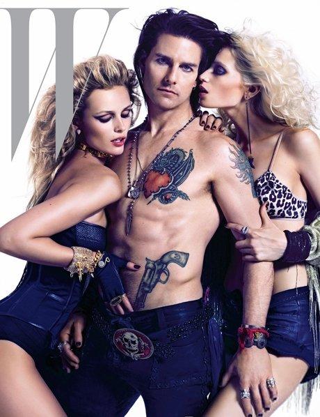"Tom Cruise, Edita Vilkevičiūtė ir Abbey Lee Kershaw žurnalo ""W"" viršelyje"