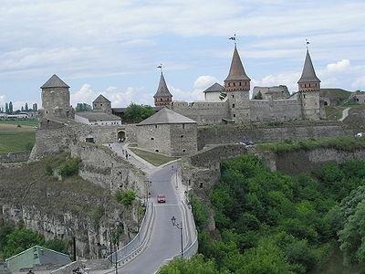 Каменец-Подольский. Фото с сайта retrobazar.com