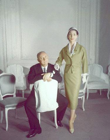 Christian Dior su modeliu