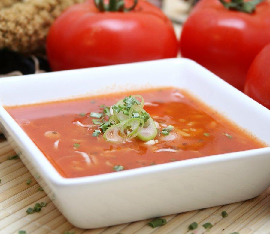 Pomidorinė Sriuba Su Ryžiais Ir Jūros Gėrybėmis 1000receptųlt