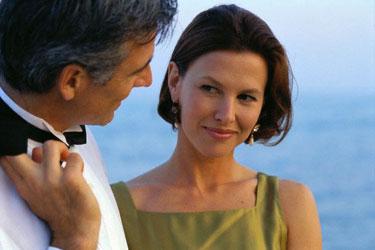Pora, vyras ir moteris, flirtas