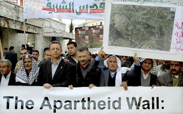 Protestuoja palestiniečiai, Palestina, Izraelis
