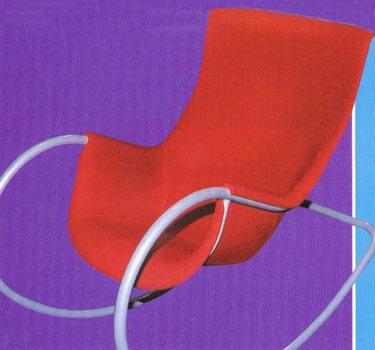 Supamasis krėslas. Dizainas Eero Aarnio