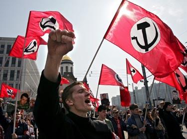 Maskvoje - darbo žmonių šventės minėjimas