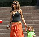 Victoria Beckham su sūnumi Romeo