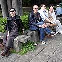 A.Pogrebnojus ir V.Simanavičiūtė. Japonija. 2005 m.