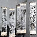 Tarptautinė bonsai ir suiseki paroda Alytus 2005. Sumi-e - tapyba ant ryžių popieriaus