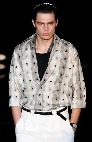 2006 metų pavasario-vasaros mada vyrams. Gucci