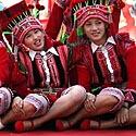 Kinijos etninės mažumos atstovės.
