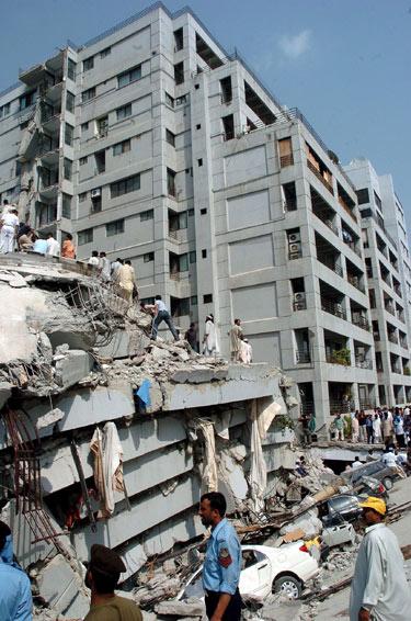 Žemės drebėjimas Azijoje