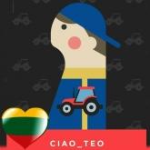 """Tinklaraštis """"Ciao_Teo"""""""