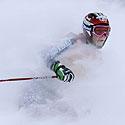 JAV slidininkė Kristina Koznick slalomo varžybose Čekijoje.