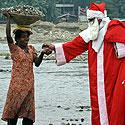 Kalėdų Senelis Indijoje