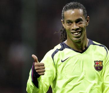 """Ronaldinho (""""FC Barcelona"""")"""
