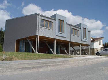 Individualių namų architektūra 2000-2006.  Tomas Lapė, Darius Mitka.