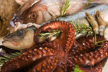 Itališkas maistas: jūros gėrybės