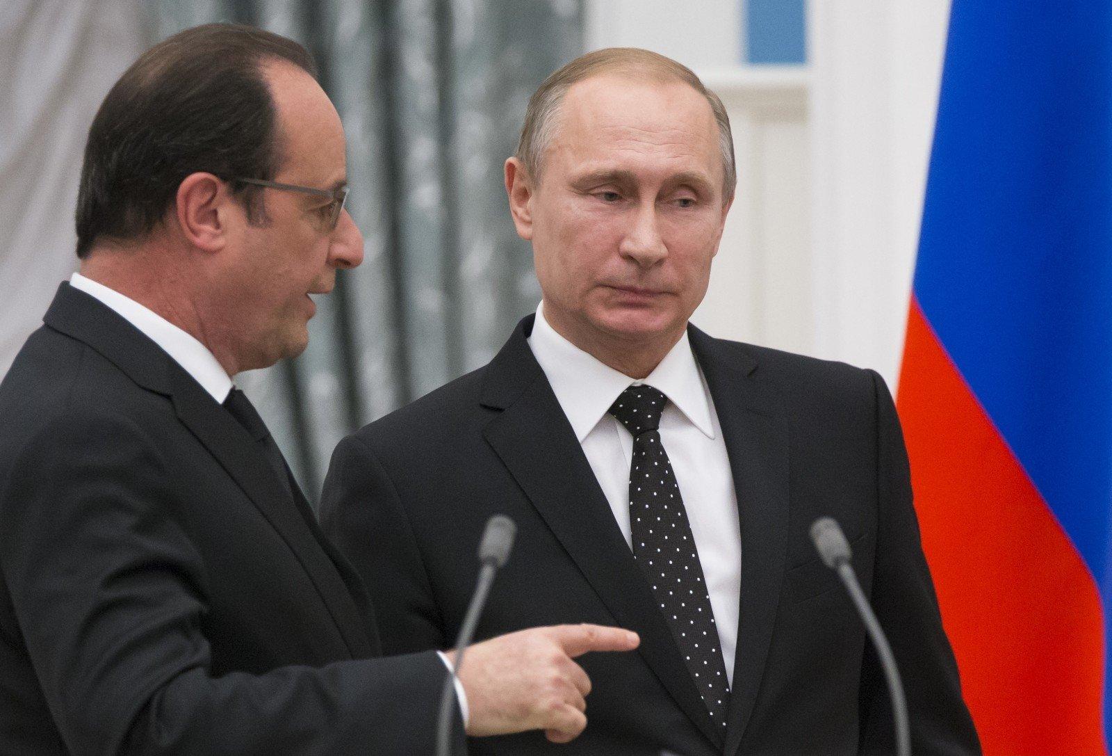 Песков прокомментировал вероятную отмену встречи В. Путина иОлланда