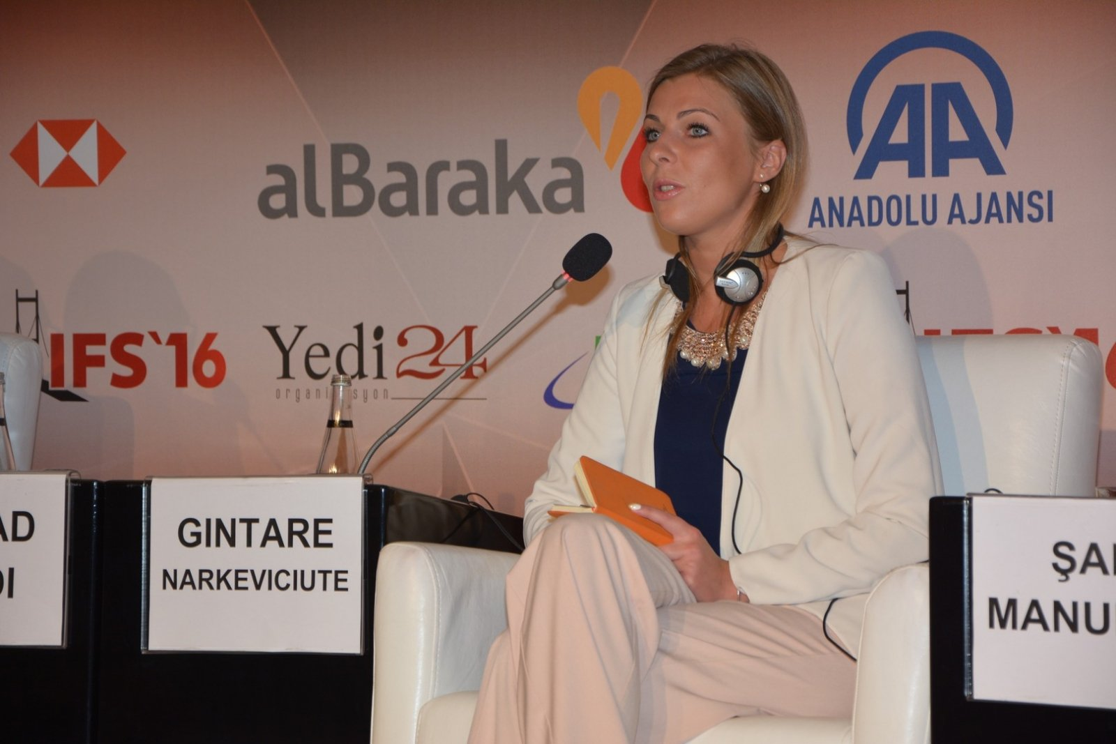 Lithuanian business woman becomes a member of Istanbul