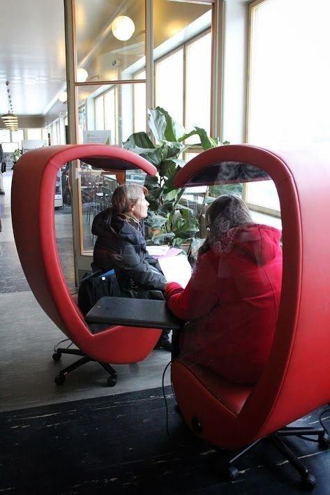 Helsinkio viešosios bibliotekos filialas MeetingPoint (Suomija)  G. Putnaitės nuotr.
