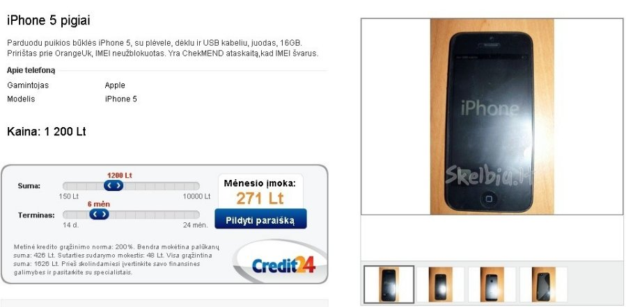 credit24 klaipeda kontaktai