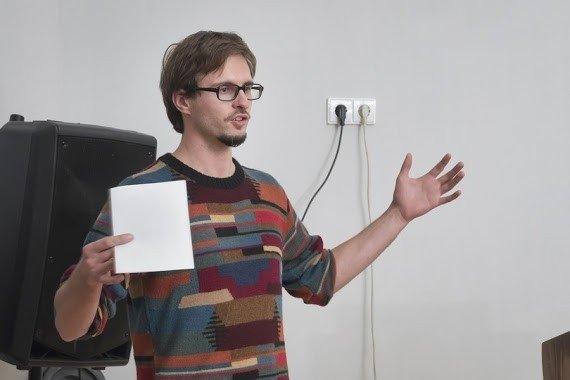 IT mokytojas Tomas Šiaulys