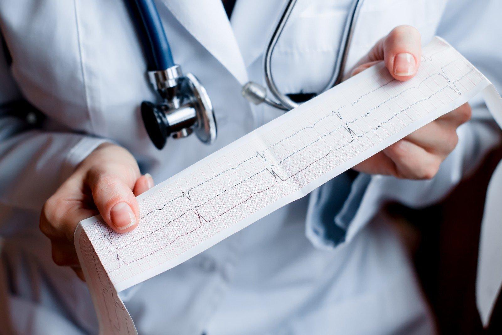 hipertenzijos kardiograma