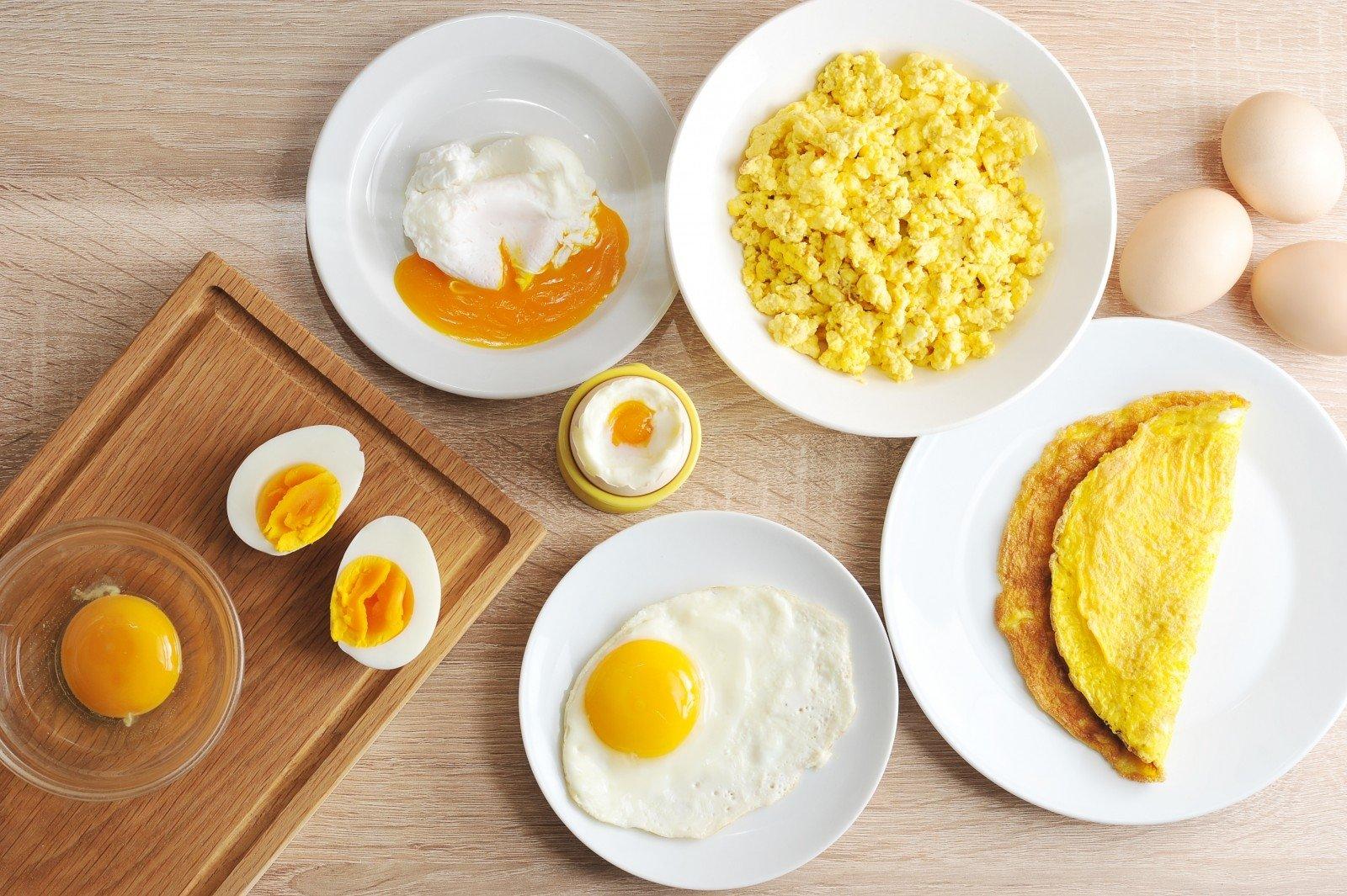 valgyti varpos ir kiaušinius
