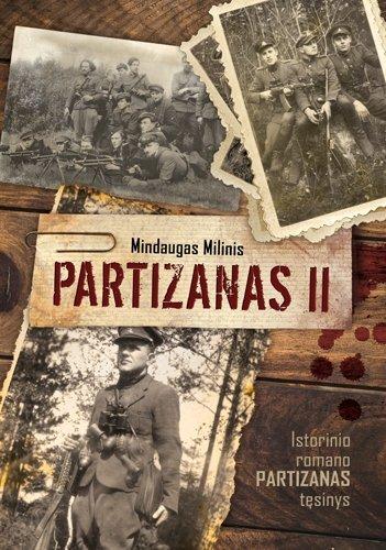 """Knygos """"Partizanas II"""" viršelis"""