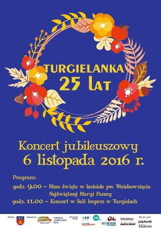 Koncert jubileuszowy Zespołu Folklorystycznego TURGIELANKA