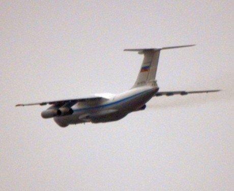 Kryme leidžiasi rusų lėktuvai.  УП nuotr.