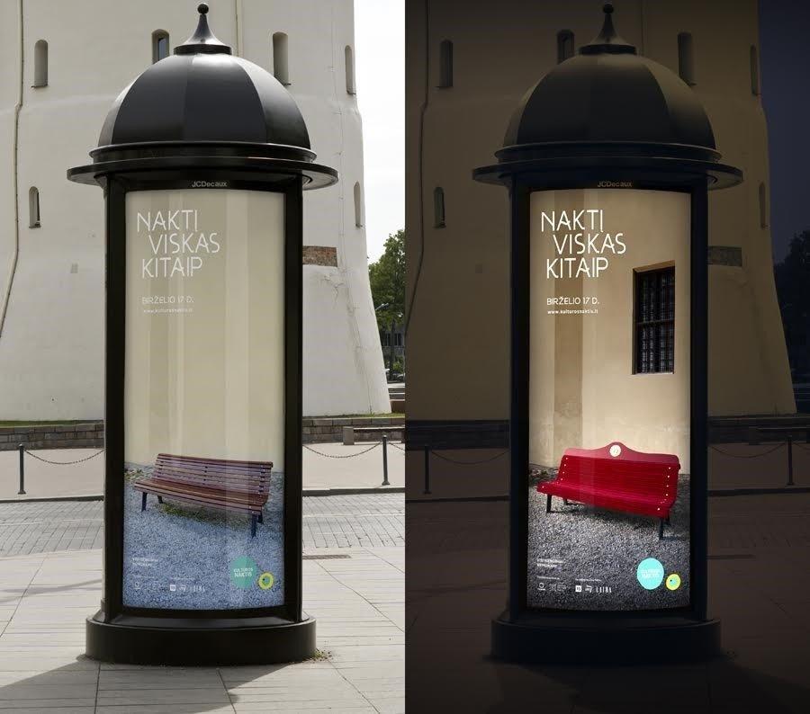 """""""Kultūros nakties"""" reklamos kampaniją pristato """"LOVE"""""""