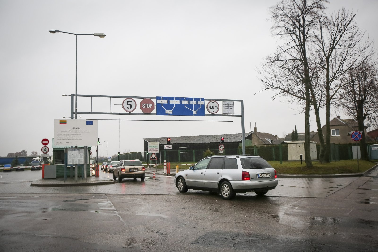 Four border checkpoints to be temporarily closed on