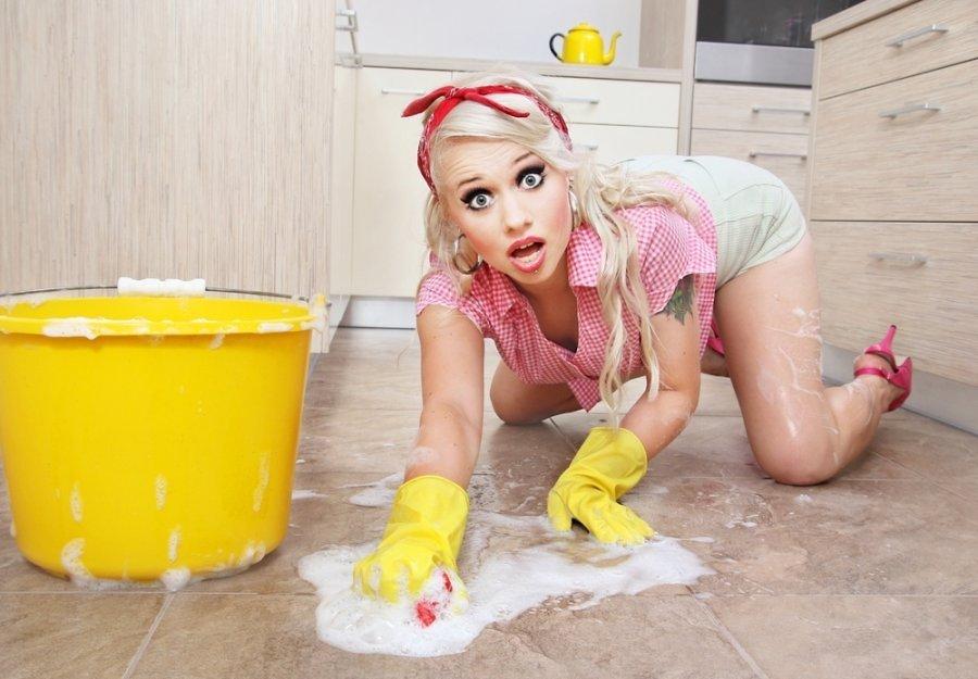 Смешные картинки мыть полы, открытка дню