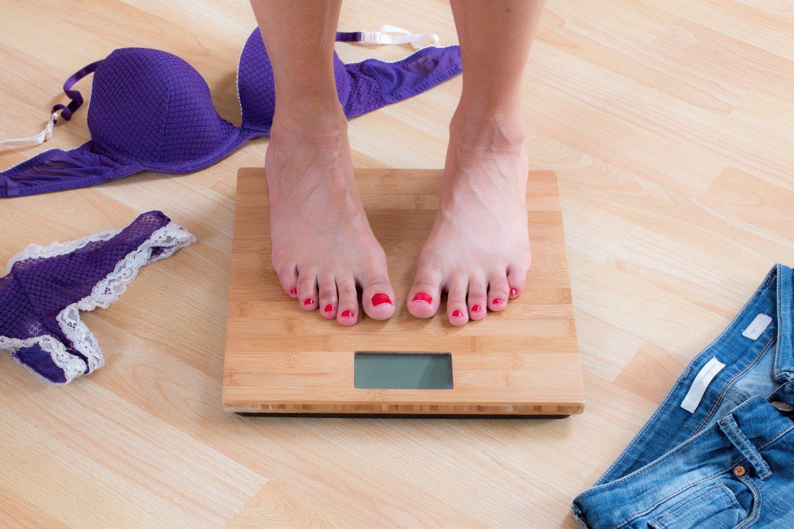 svorio netekimas savaitės laikotarpiu