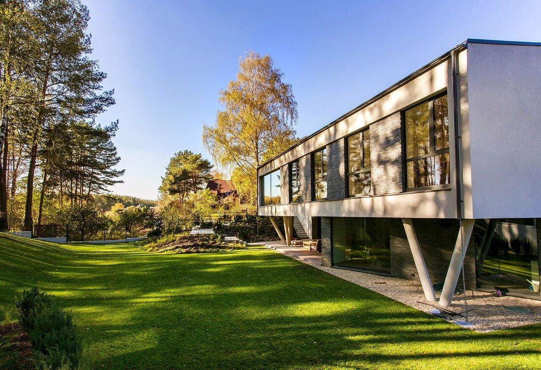 dirbti iš namų architektų