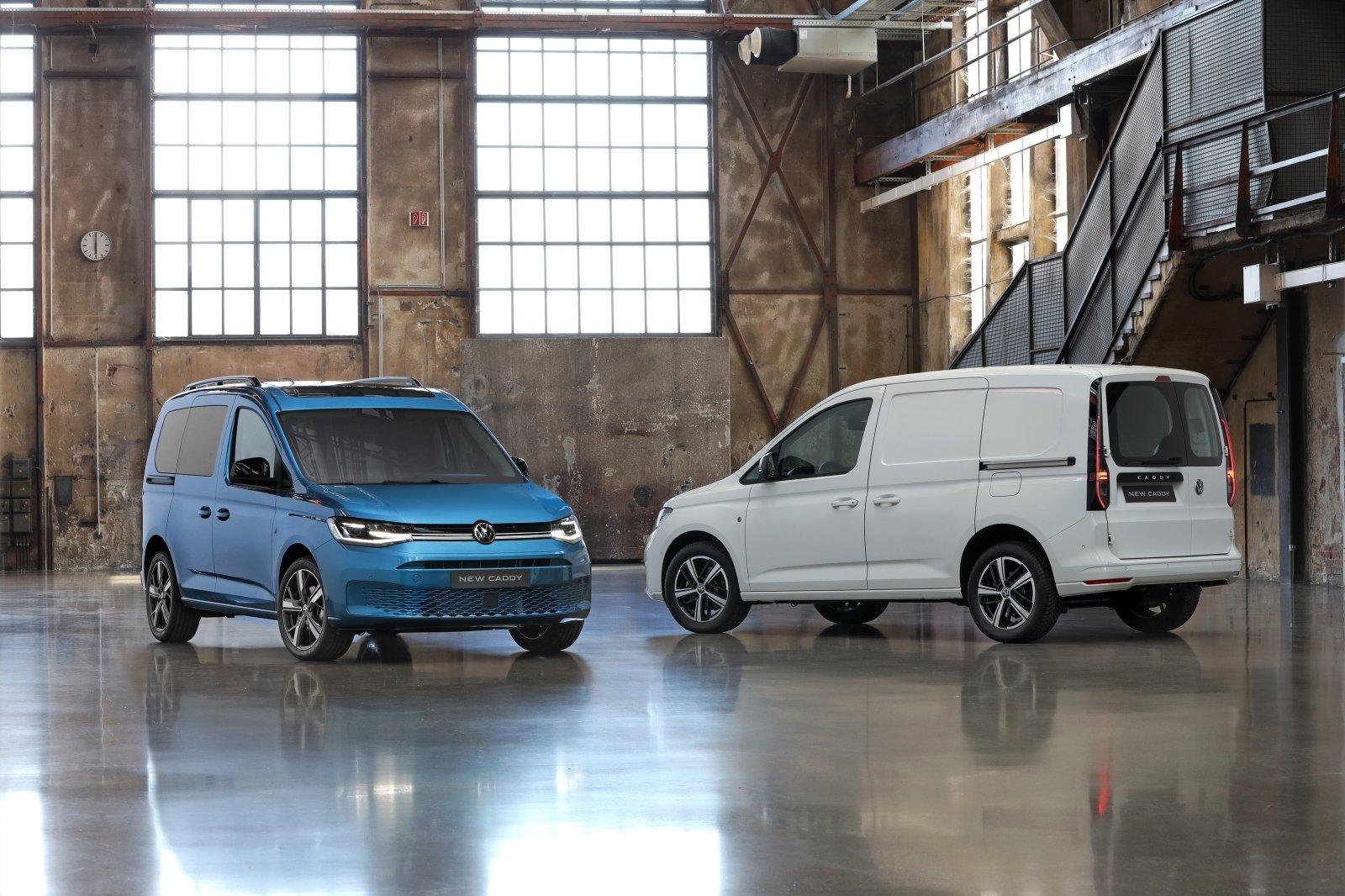 """Volkswagen"""" pristatė naują """"Caddy"""": naujienų tiek, kad labiau"""
