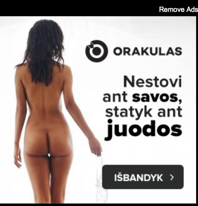 """""""Orakulo"""" reklama: pažeidimai akivaizdūs, bet neaišku, ką bausti"""