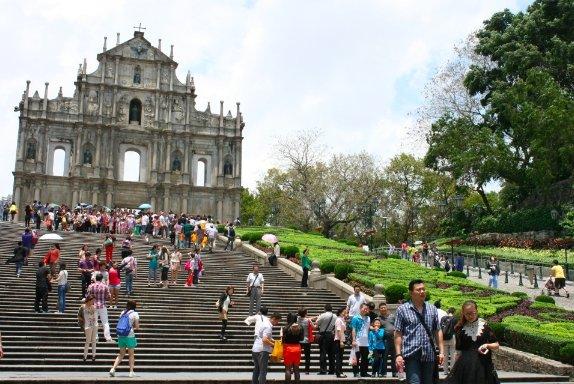 Lietuvaitė Kinijoje. Pasivaikščiojimai Makao