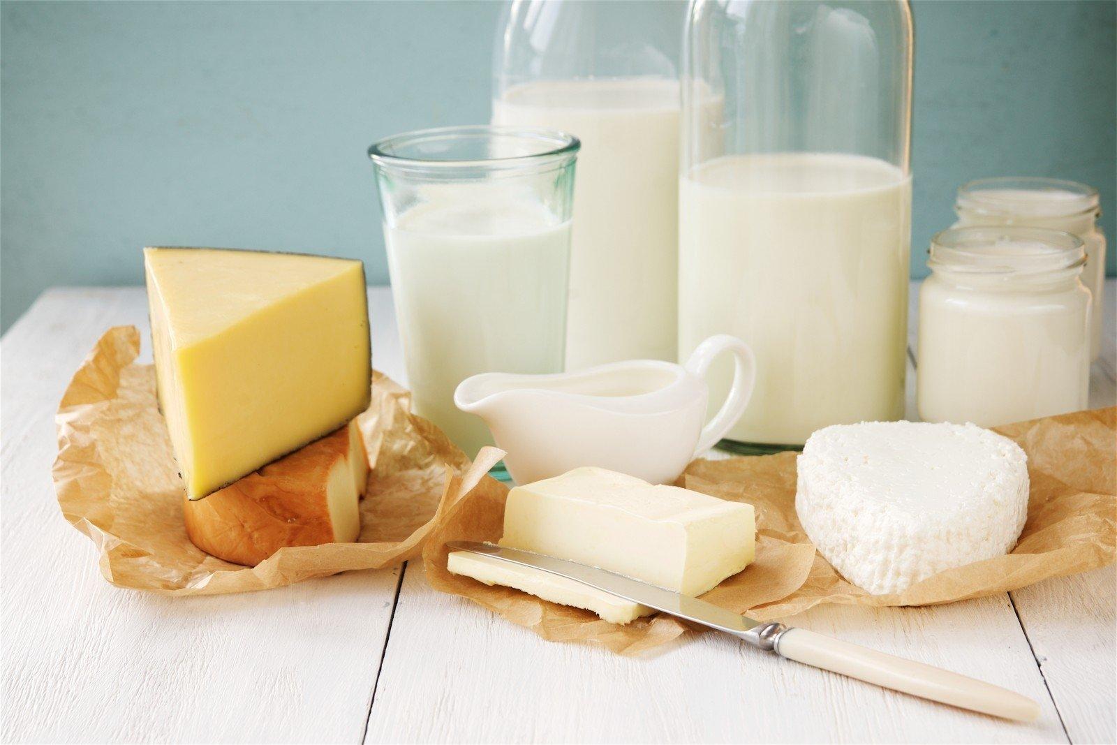 """Vaizdo rezultatas pagal užklausą """"pieno produktai"""""""