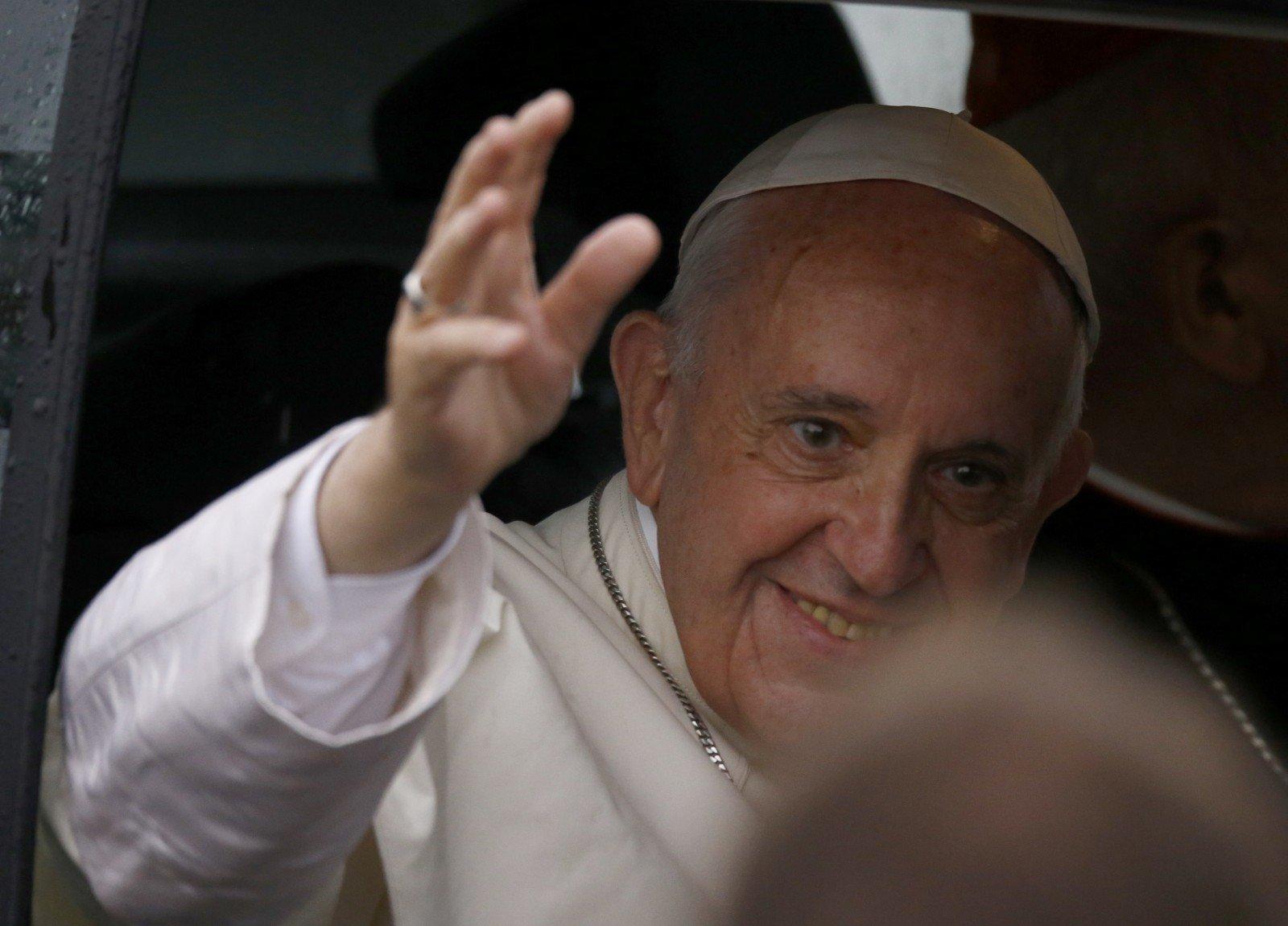 Папа Франциск приедет вВильню