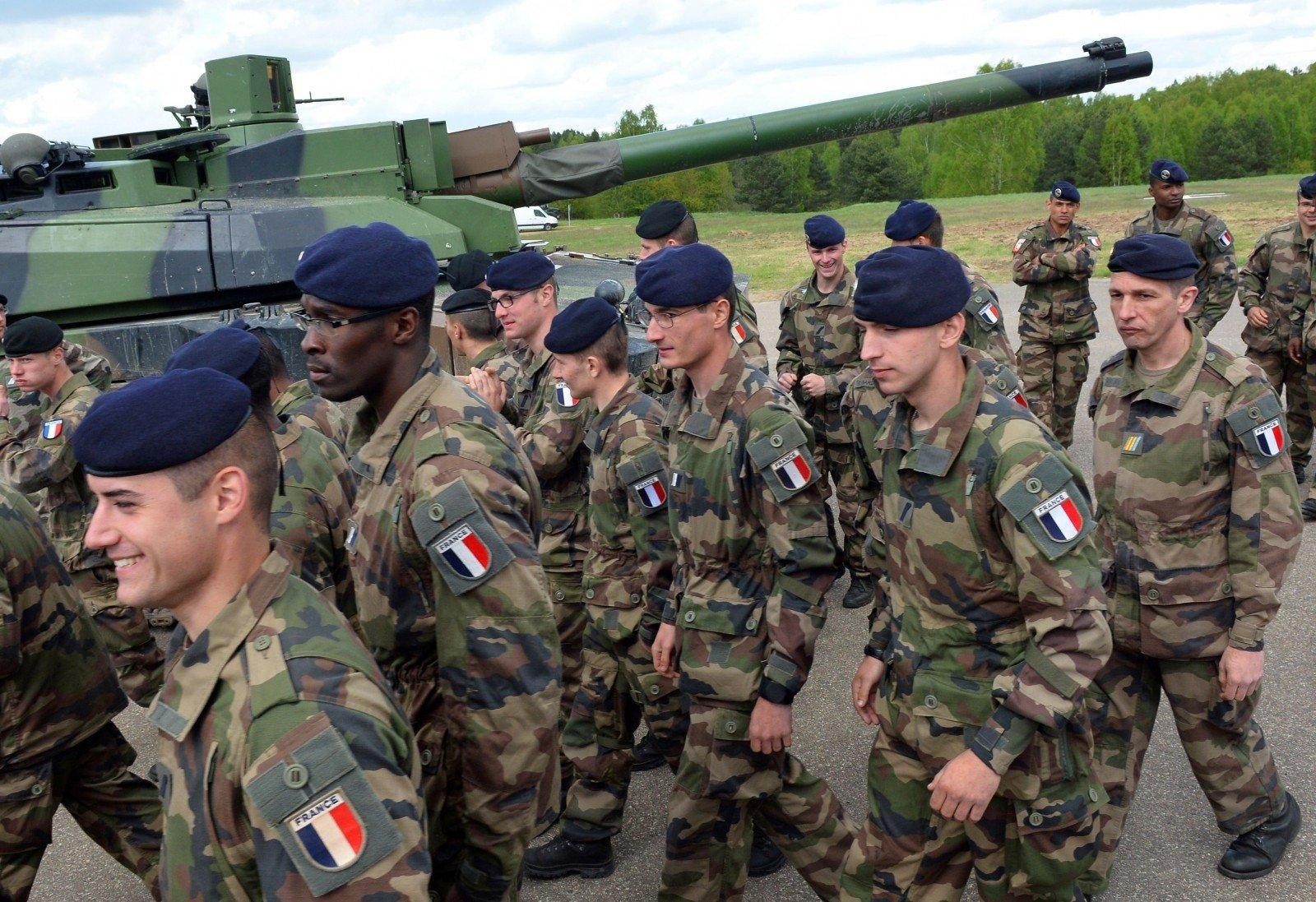 Вбатальон NАТО вЛитве будут передислоцированы 250 французских военных
