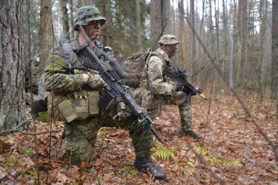 ВЛитве закончились учения НАТО «Железный меч»