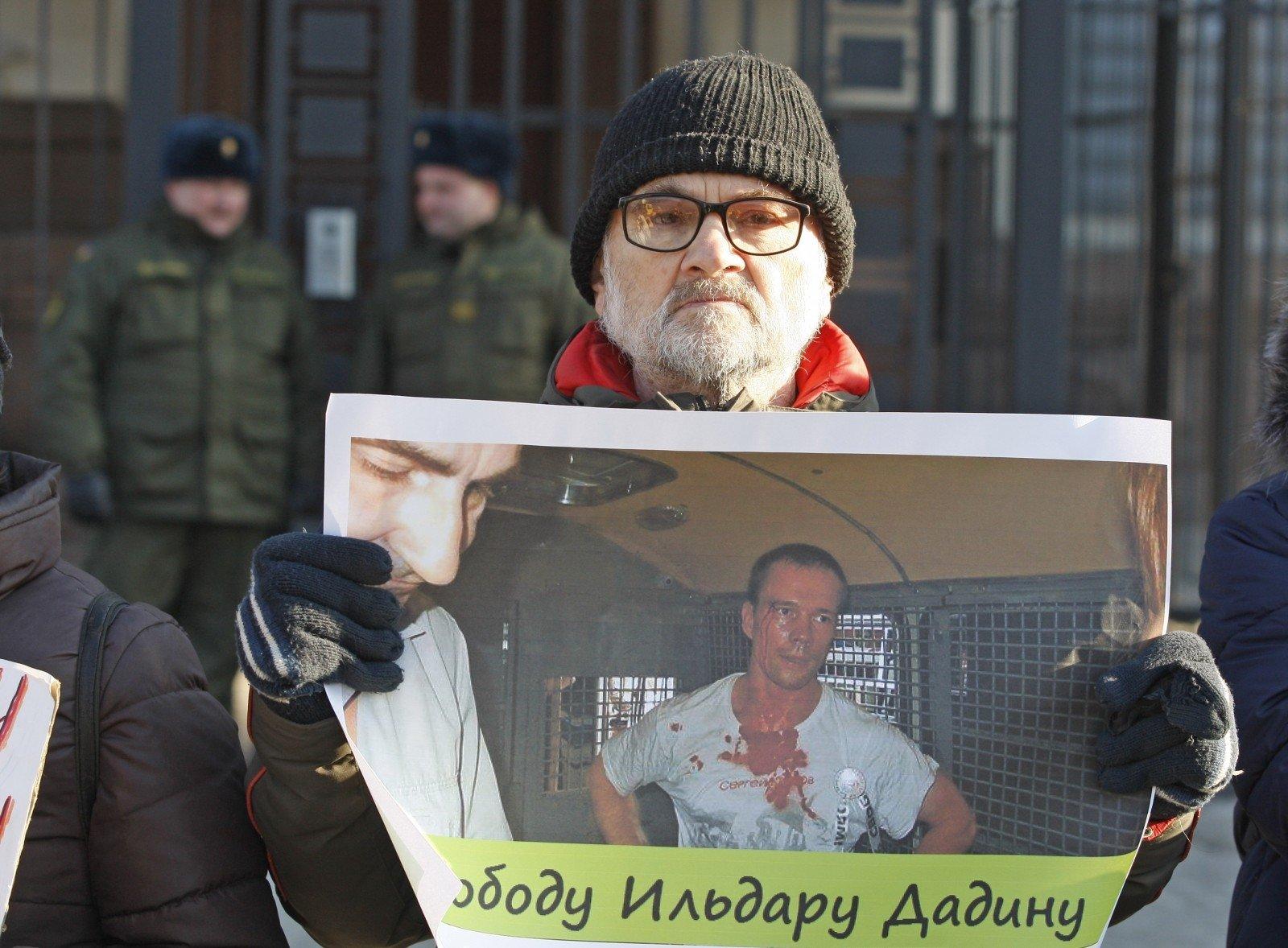 Милиция Петербурга отпустила супругу Дадина без предъявления обвинений