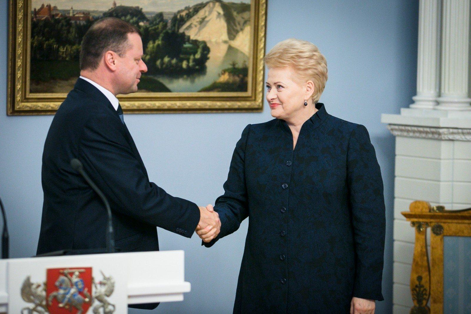 Президент одобрила кандидатуру Сквернялиса напост премьера Литвы