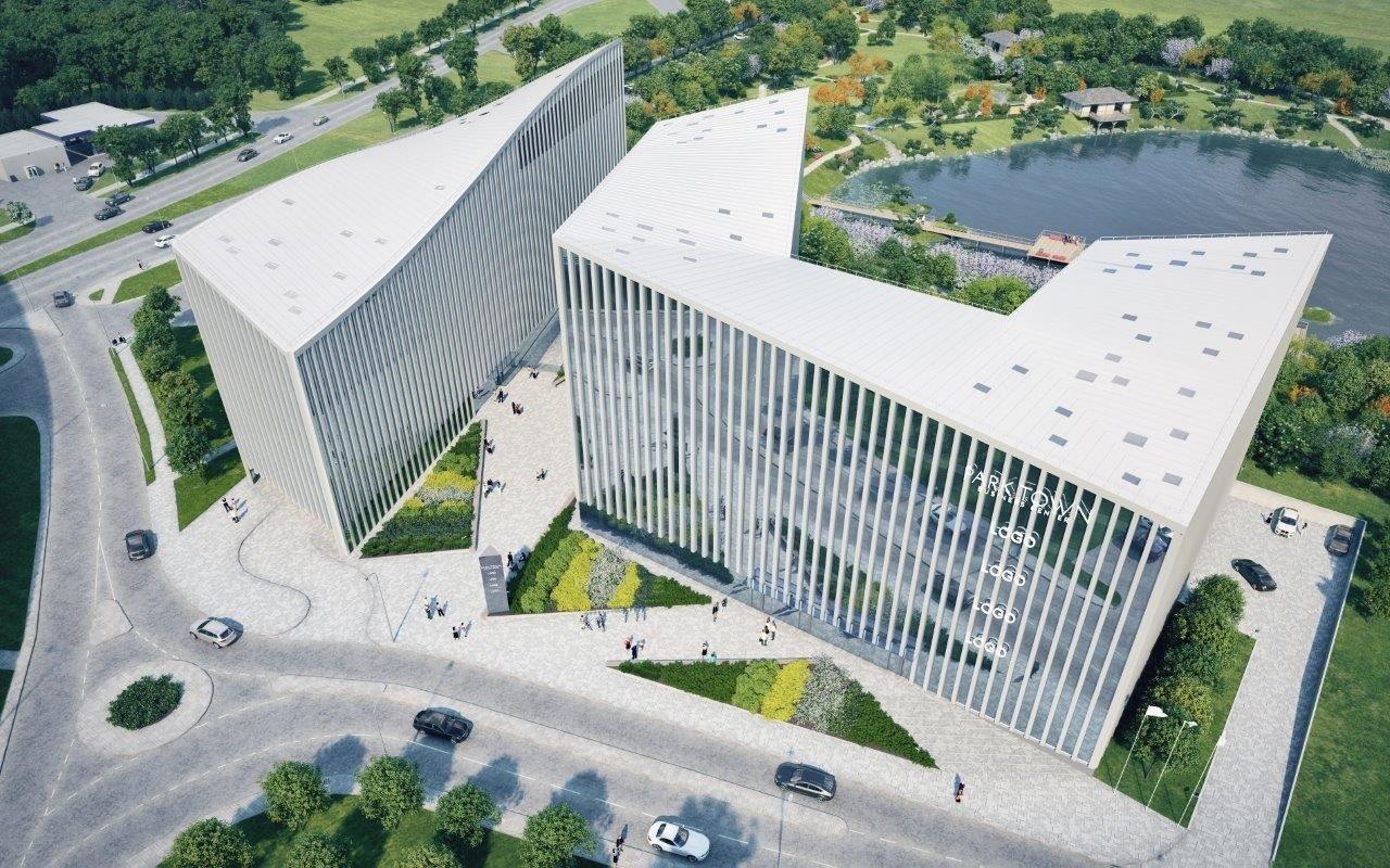 Vilniaus centre i kils naujas biur kompleksas delfi verslas for Park towne