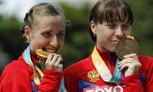 Русских легкоатлетов лишили золота Олимпийских игр ичемпионата мира