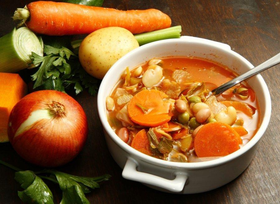 širdies sveikatos dietos sriuba